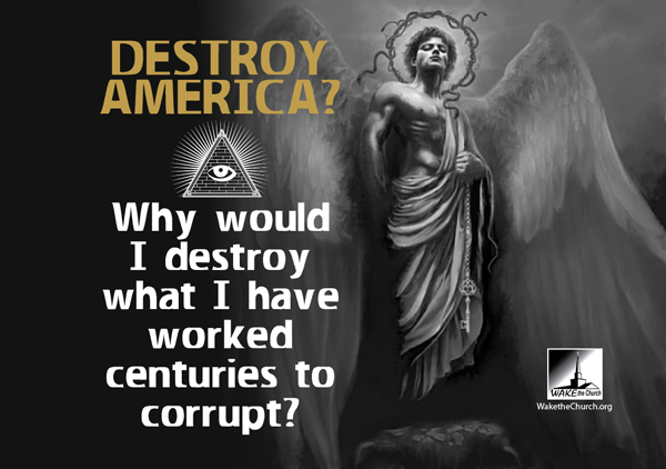 Destroy America? Economic Crisis through the eyes of Satan