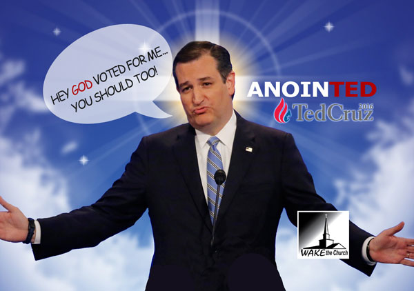 Ted Cruz AnoinTED