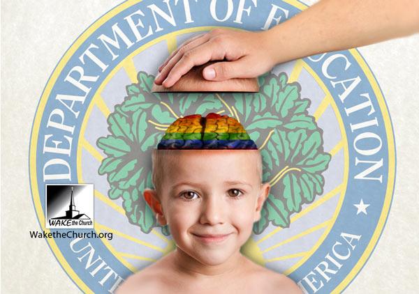 Children Gay indoctrination school homosexual 8 points that destroy agenda