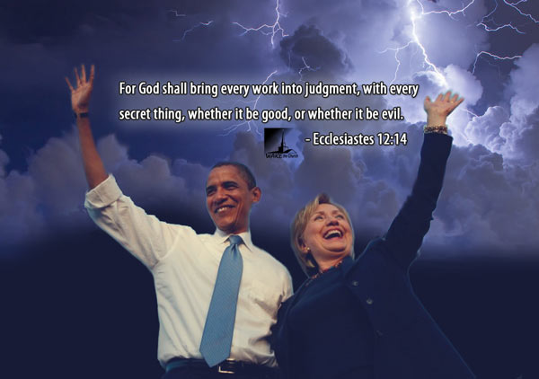 Clinton and Obama God's Judgement