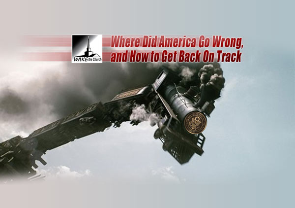 Where Did America Go Wrong,  and How to Get Back On Track