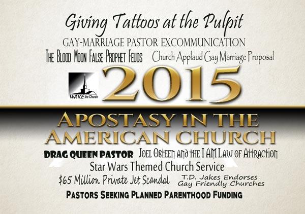 Apostasy in the American Church