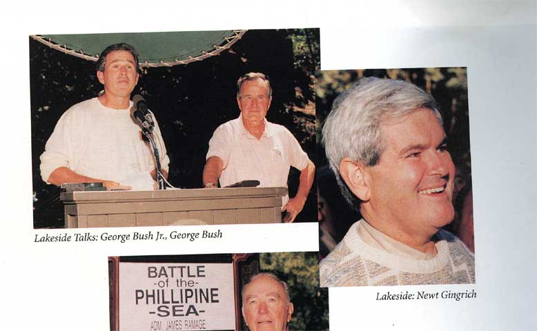 Bush at the Bohemian Grove