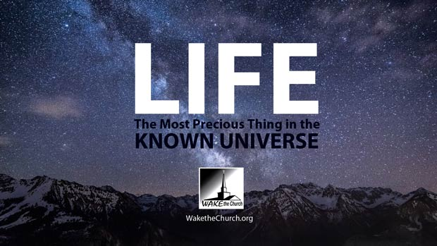 Life the Most Precious Thing in the Known Universe