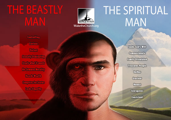 The Natural Man and Spiritual Man